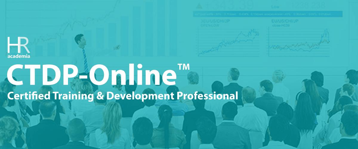 HR Academia CTDP-Online® ( Certified Training & Development Professional)